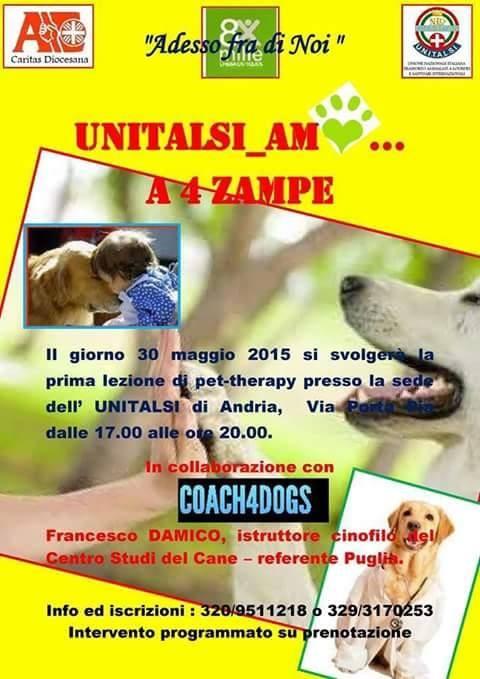 Pet therapy unitalsi Andria